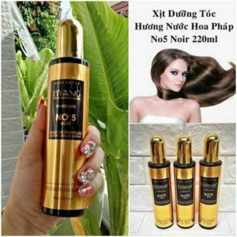 Xịt dưỡng tóc hương nước hoa No5 ( 220ml )