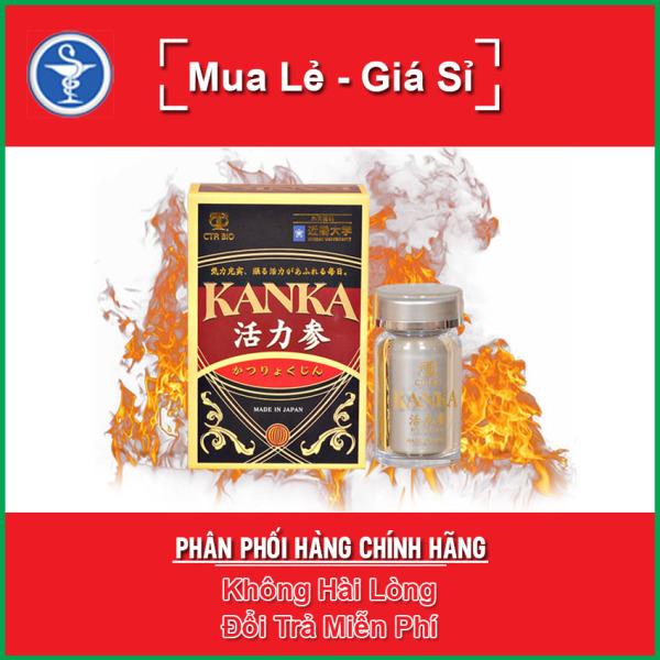Bổ Thận Kanka Hộp 60 Viên -  Tăng Cường Sức Khỏe Sinh Lý Nam Giới nhập khẩu