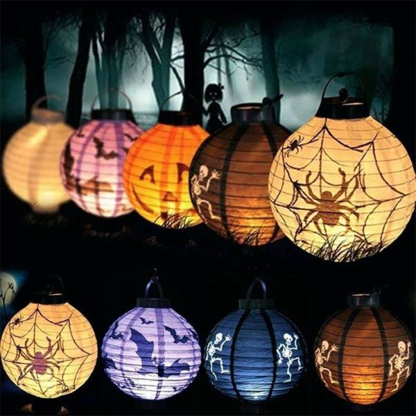 JFDHGR Bồn Cầu Có Đèn LED Trang Trí Halloween Trong Tiệc Độc Lập Bí Ngô Đèn LED Treo Tường Đèn Chiếu Sáng Kinh Doanh Đồ Dùng Cho Bữa Tiệc Halloween