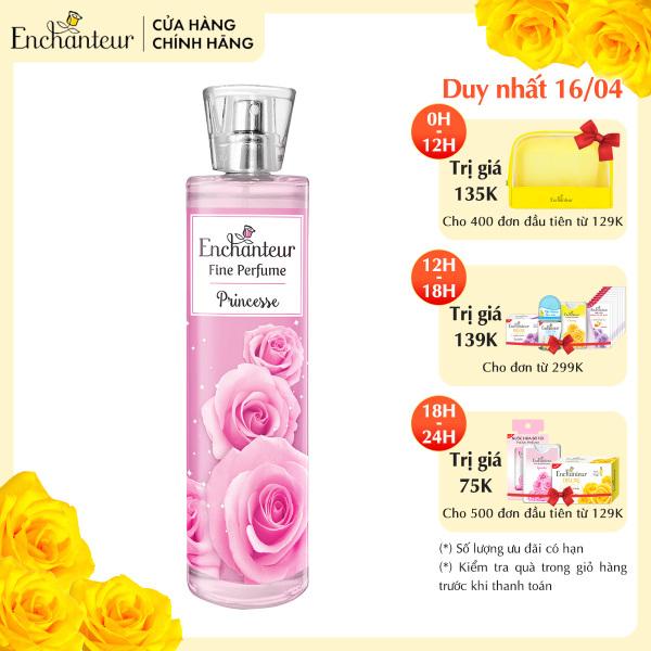Nước hoa toàn thân cao cấp Enchanteur hương Princesse 100ml giá rẻ