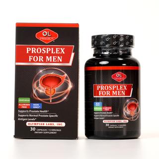 Viên uống hỗ trợ tiền liệt tuyến Olympian Labs Prosplex For Men tăng cường sinh lý nam - Hộp 30 viên thumbnail