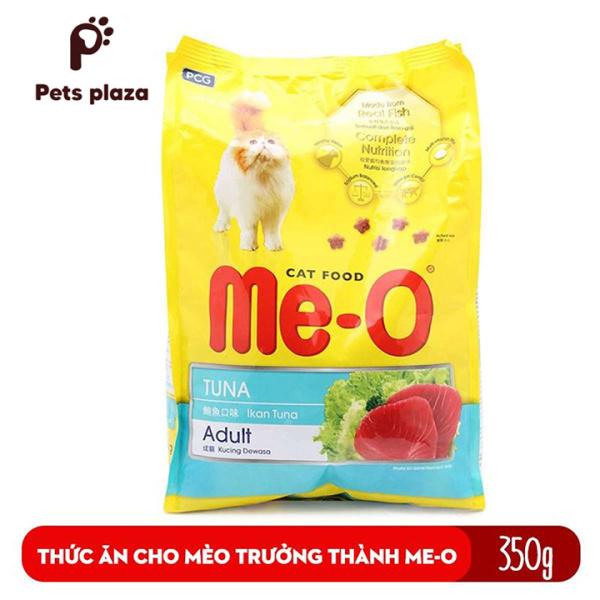 Me-O Adult 350gr Thức Ăn Hạt Cho Mèo Trưởng Thành Trên 12 Tháng Tuổi - Pets plaza