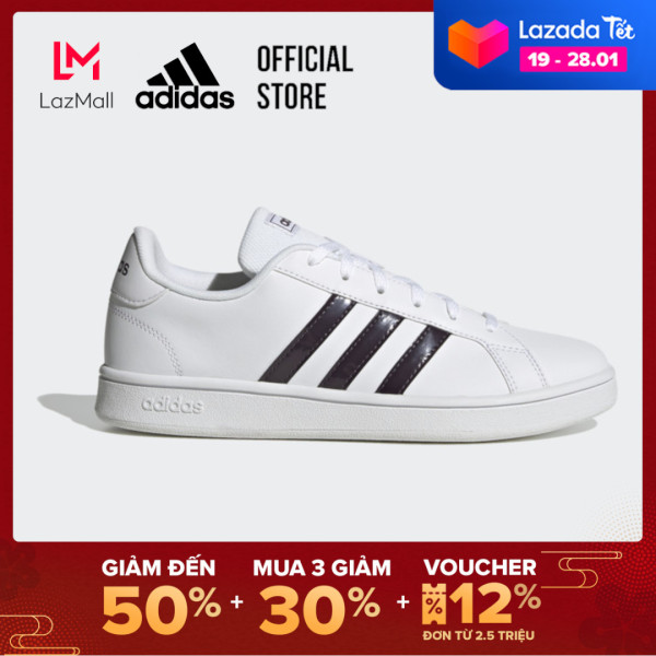 adidas TENNIS Giày Grand Court Base Nữ Màu trắng FW0807