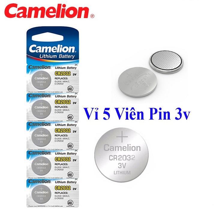 PIN CR2032 CAMELION -VĨ 5 VIÊN -000235