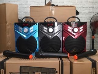 Loa Bluetooth Karaoke K56- Tặng 1 mic không dây thumbnail
