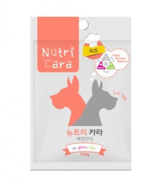 Snack Cho Chó Nutricara Hàn Quốc Vị Phô Mai - Cheese Jerky 100gr