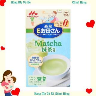 Sữa bầu Morinaga vi trà xanh, 216g - [HÀNG CHÍNH HÃNG - CÓ TEM PHỤ TIẾNG VIỆT] - Cân bằng dinh dưỡng cho mẹ và - tốt cho hệ tiêu hóa - hương vị thơm ngon thumbnail