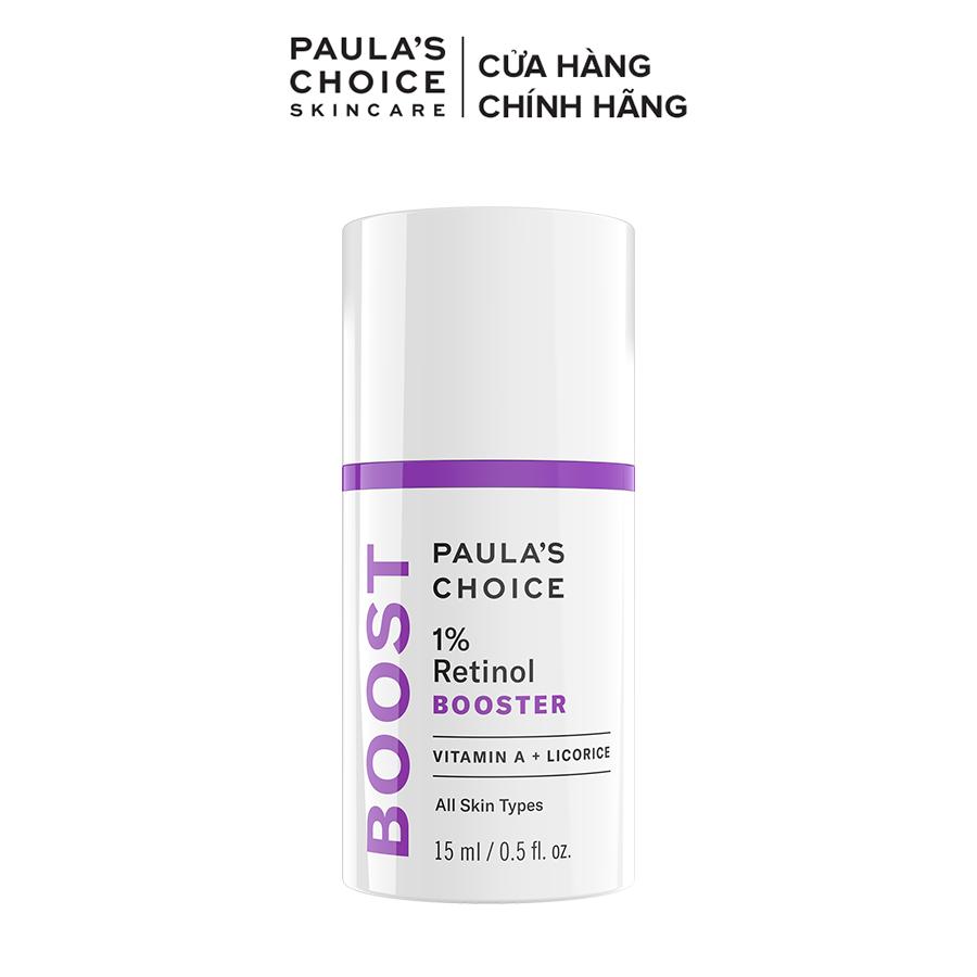 Tinh chất chống lão hóa ngăn ngừa nám, tàn nhang Paula's Choice 1% Retinol Booster 15ml