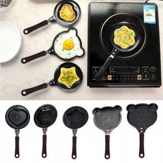 Chảo chiên trứng chống dính mini khuôn mẫu hoạt hình dễ thương - chảo chiên trứng hình trái tim đồ dùng nhà bếp nồi nấu thực phẩm đa năng - chảo chiên trứng - đồ gia dụng- dụng cụ nấu ăn - bếp & phòng ăn thumbnail