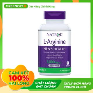 Viên Uống Dành Cho Nam Giới Natrol L-Arginine 3000Mg - Mẫu Mới 90 Viên - Greenoly Việt Nam phân phối chính hãng thumbnail