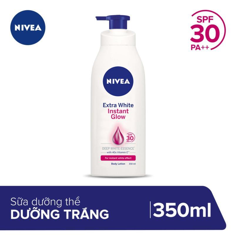 Sữa Dưỡng Thể Dưỡng Trắng Da Nivea Instant White SPF30 350ml _ 88320