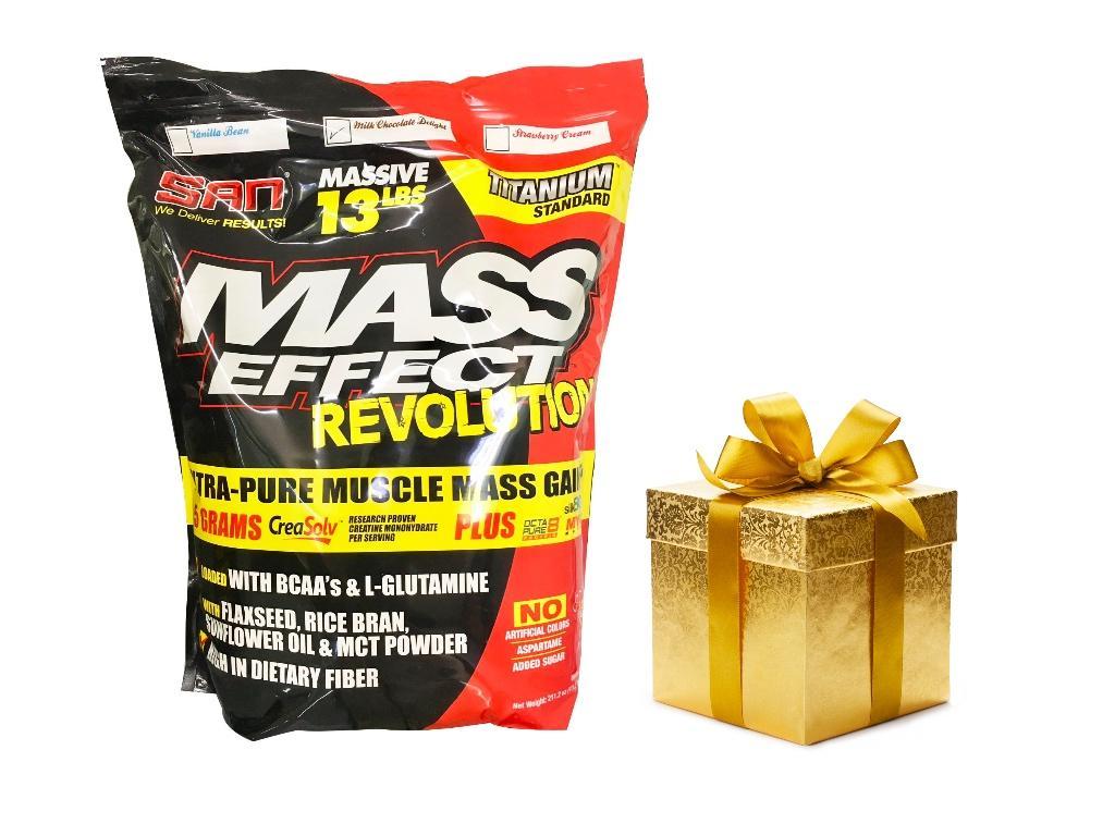 Thực phẩm bổ sung hỗ trợ tăng cân Mass Effect Revolution - Milk chocolate delight + Quà tặng