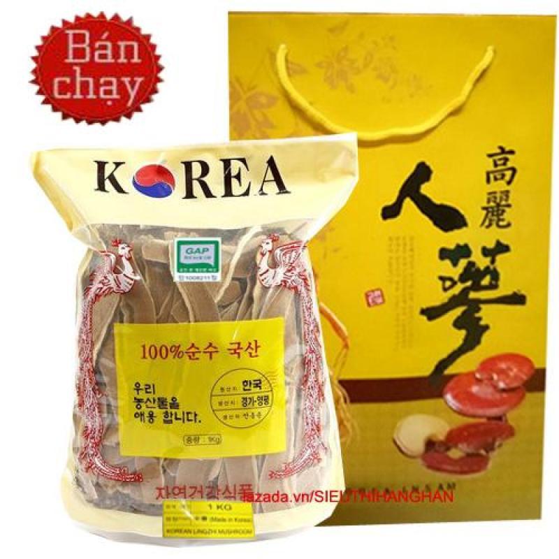 Nấm linh chi Đỏ Thái Lát Hàn Quốc cao cấp 1 kg ( Nấm sạch) tốt nhất