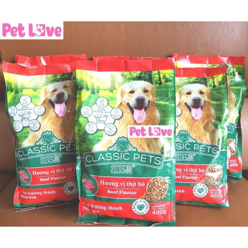 COMBO 6 CLASSIC thức ăn hạt cho chó lớn (6 x 400g/ gói = 2,4kg)