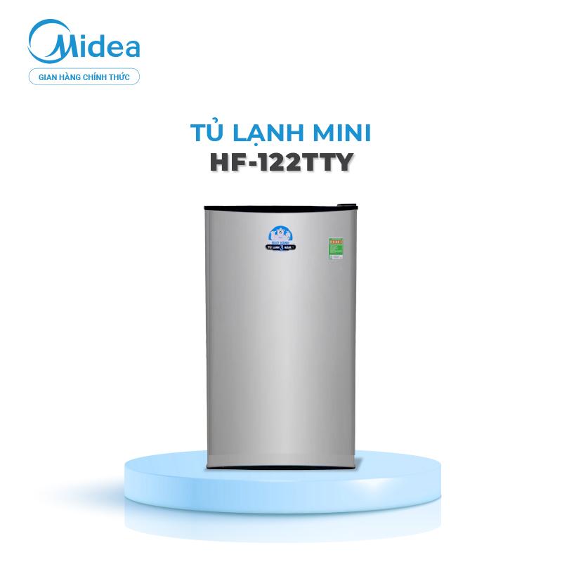 Tủ Lạnh Midea HF-122TTY - 93 Lít - Phù Hợp Gia Đình Đến 3 Người - Thiết Kế Cao Cấp - Hàng Phân Phối Chính Hãng Bảo Hành 2 Năm