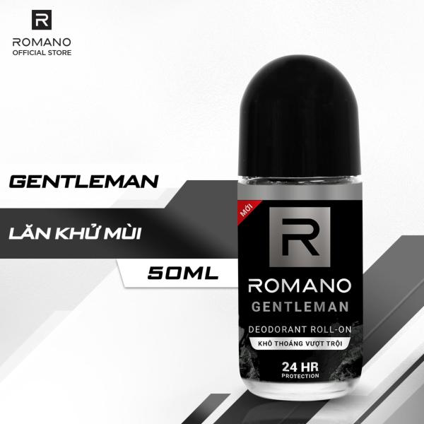 Lăn khử mùi Romano Gentleman 50ml nhập khẩu