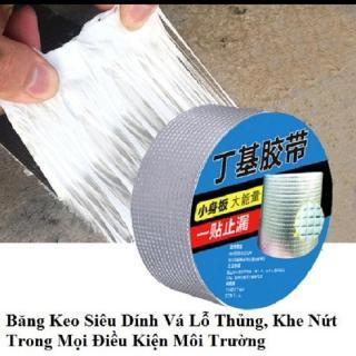 Combo 02 Băng Keo Siêu Dính, chống thấm Nhật Bản gắn trên tất cả các bề mặt như gỗ, kính, nhựa, tôn, sắt, bê tông, gốm sứ... thumbnail