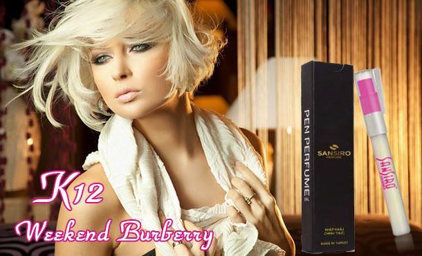 K12 - Nước hoa nữ Sansiro Thổ Nhĩ Kỳ 8ml