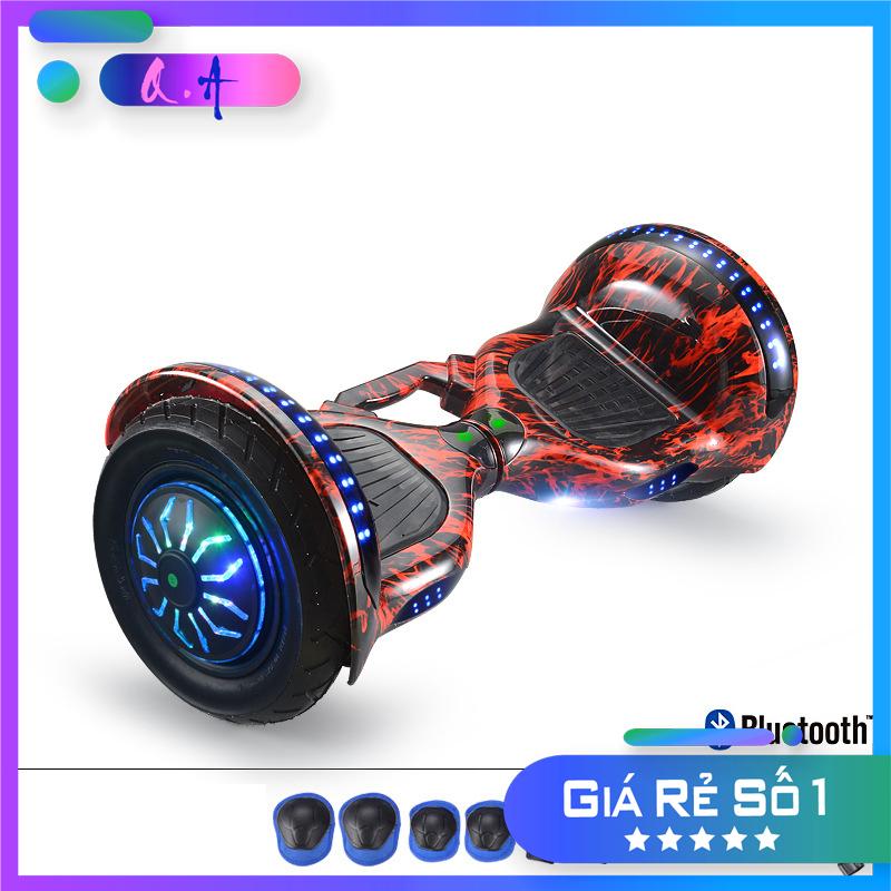 Mua 🔥[Freeship] 🔥 Xe Điện Cân Bằng 10 inch 💥Smart Balance Wheel 💥 Kết nối Bluetooth☄️ [ Tặng kèm túi đựng, bơm hơi và đồ BH]
