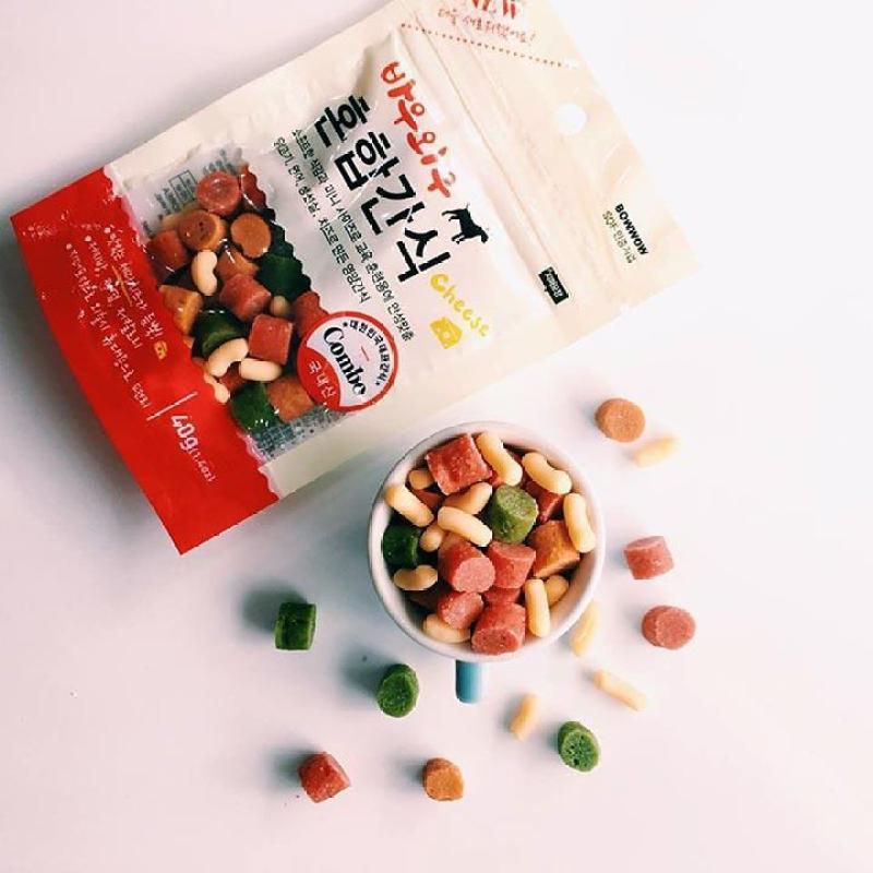 Bánh thưởng Snack hỗn hợp cho chó Hàn Quốc