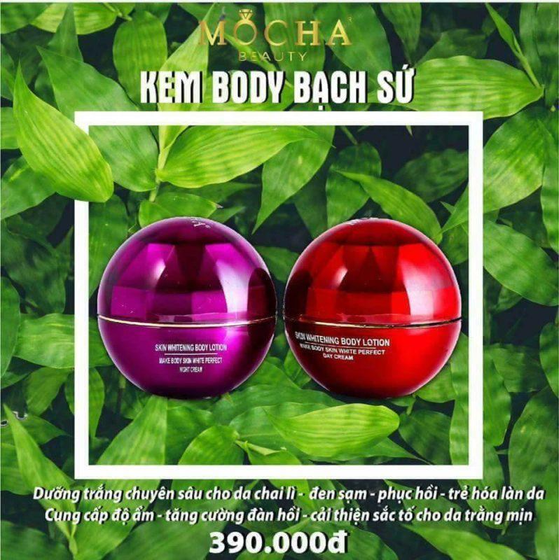 Kem ChĂm SÓc Da BẠch SỨ Mocha By Mocha Shop.