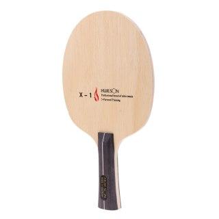 Pure Wood Shakehand Grip Style Table Tennis Racket Pong Bat Paddle - Lightweight & Practical thumbnail