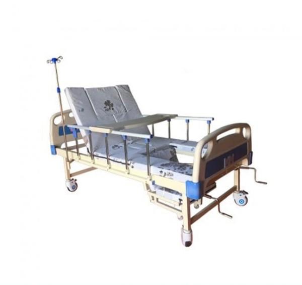 Giường Bệnh Nhân Đa Năng Lucass GB6A cao cấp