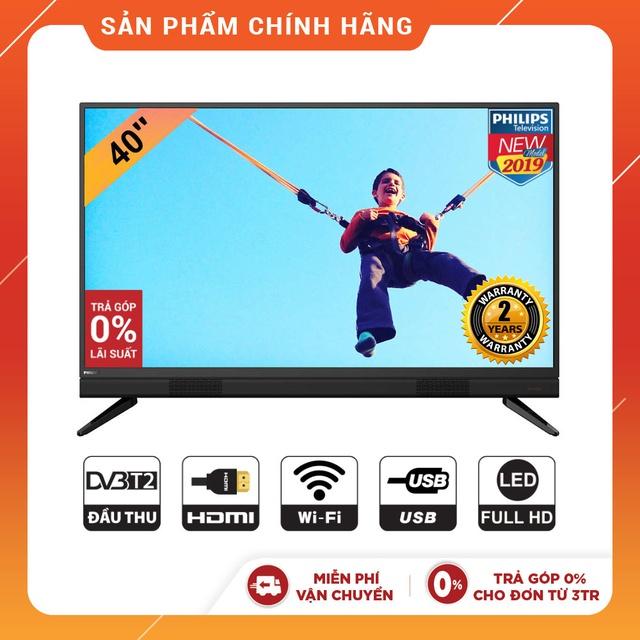 Bảng giá Smart Tivi Philips 40 Inch Full HD - 40PFT5883/74 Model 2019