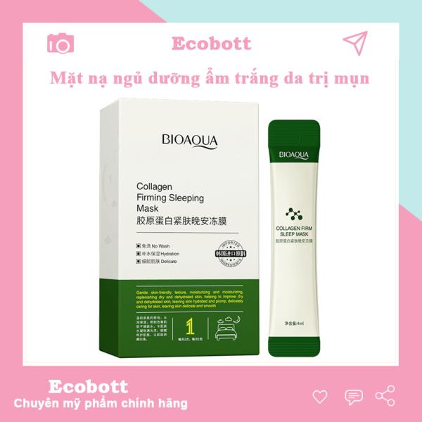 [SIÊU SALE] Mặt nạ ngủ ha dưỡng da trắng da dưỡng ẩm Bioaqua Ecobott