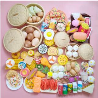[Hot Sale 63%] Đồ Chơi Trong Nhà Cho Trẻ Em Đồ Chơi Nhà Bếp Trung Quốc Và Món Ăn Phương Tây 84 Bộ Chi Tiết Ăn Sáng,Hấp Bánh Bao Cho Bé Thỏa Sức Khám Phá Ẩm Thực Thích Hợp Cho Cả Bé Trai Và Bé Gái thumbnail