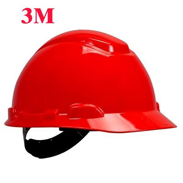 Nón bảo hộ H-705R 3M, màu đỏ, đã gồm dây quai nón