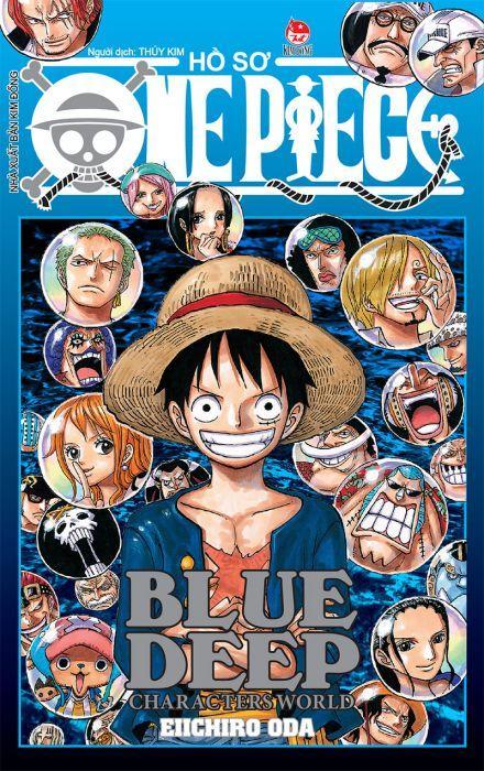 Lazada Ưu Đãi Khi Mua Hồ Sơ One Piece - Blue Deep