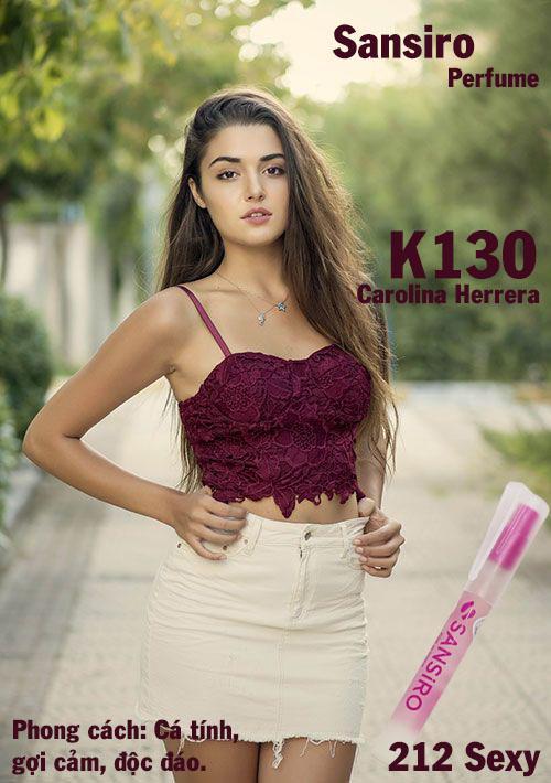 K130 - Nước hoa nữ Sansiro Thổ Nhĩ Kỳ 8ml