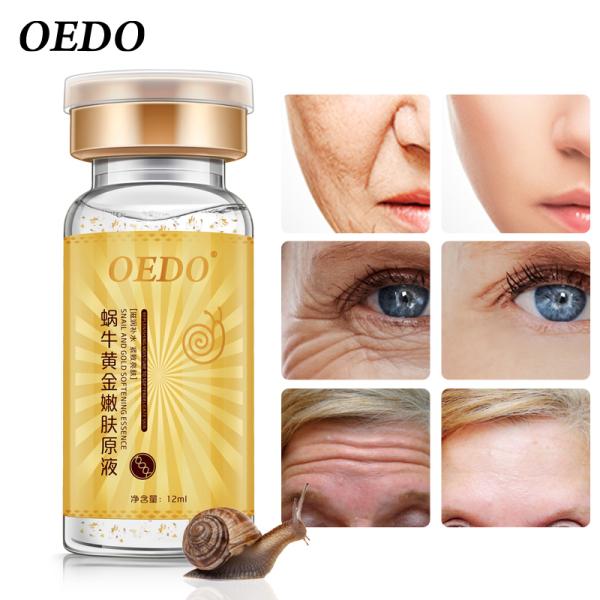 Oedo Essence Tinh Chất Vàng Và Ốc Sên Thấm Sâu Giúp Chống Lão Hóa Thu Nhỏ Lỗ Chân Lông Và Làm Sáng Da