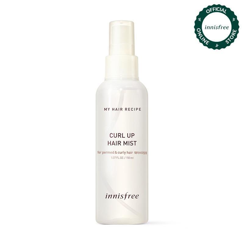 Nước xịt dưỡng tóc uốn Innisfree My Hair Curl Up Hair Mist 150ml giá rẻ