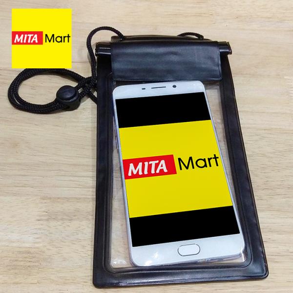 Túi chống nước cho điện thoại - Giao màu ngẫu nhiên - MitaMart SG