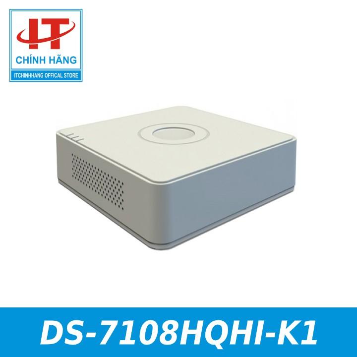 Đầu ghi hình Hybrid TVI-IP 8 kênh TURBO 4.0 HIKVISION DS-7108HQHI-K1 - HÀNG CHÍNH HÃNG