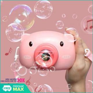 Đồ chơi cho trẻ, Máy thổi bong bóng xà phòng quà tặng dễ thương cho bé - may anh thoi bong bong, máy thổi bong bóng heo hồng, Đồ chơi cho bé-May thoi bong bong-Quà tặng ý nghĩa cho bé yêu thumbnail