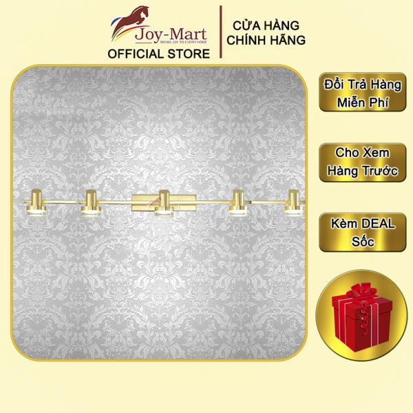Đèn Rọi Tranh - JOYMART- Đèn hắt Tranh Trang Trí, 5 Tay Chiếu sáng, LED 3000K 88cm, Thân Hợp Kim mạ Vàng MST3223/5