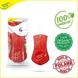 Miếng sáp thơm hoa tulip treo ô tô, tủ quần áo Natural Fresh TE001 (Hương ngẫu nhiên) thumbnail