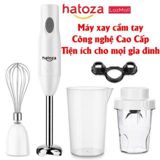 Máy xay sinh tố cầm tay Hatoza-HZ01-99 kèm cây đánh trứng [nhiều chế độ, xay thực phẩm nóng, xay thịt, công suất 150W] bảo hành chính hãng 6 tháng thumbnail