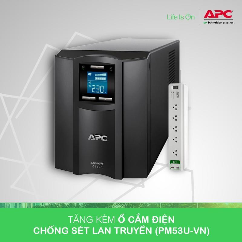 Bảng giá [Khuyến Mãi] - Bộ lưu điện:  Smart-UPS C 1500VA LCD 230V - SMC1500I Phong Vũ