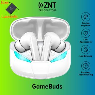 MỚI ZNT GameBuds tai nghe gaming bluetooth 5.0 Chế độ trò chơi nghe nhạc Chipset có độ trễ thấp 60-80ms chất lượng cao Âm trầm tuyệt vời Tích hợp Micrô Dành cho PUBG Chống va đập Chống nước IPX5 thumbnail