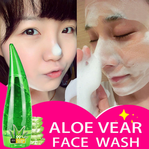 PC Gel Cấp Ẩm Dưỡng Trắng Da Giảm Mụn Thâm Chiết Xuất Nha Đam Cleanser Facial Moisturizing Acnes Treatment nhập khẩu
