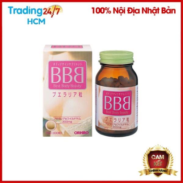 Viên uống nở ngực BBB Best Body Beauty Nội địa Nhật Bản giá rẻ