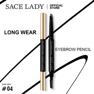 Bút chì kẻ lông mày SACE LADY không thấm nước tích hợp đầu cọ chải lông mày - INTL thumbnail
