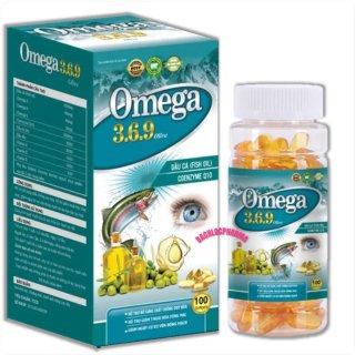 Viên uống dầu cá O.m.e.g.a 3.6.9 Oliver phòng ngừa bệnh tim mạch và tai biến tim mạch cân bằng huyết áp, béo phì, bảo vệ tim mạch, ngăn ngừa các bệnh ung thư, làm đẹp da-hộp 100 viên thumbnail