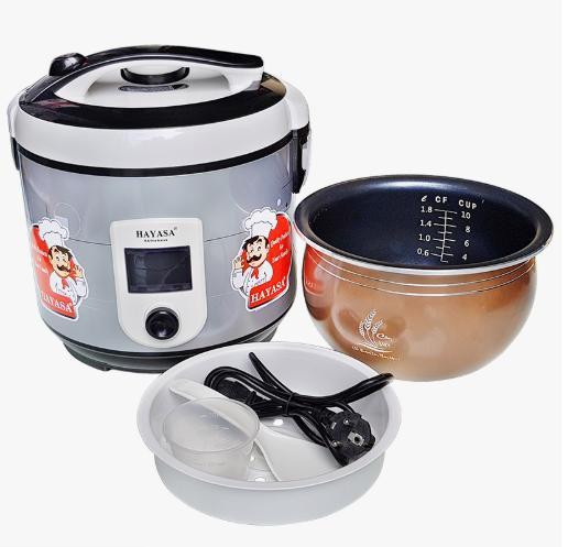Giá Nồi cơm điện lòng niêu 1.8 lít dành cho 8 phần ăn công nghệ Nhật HAYASA HA-186