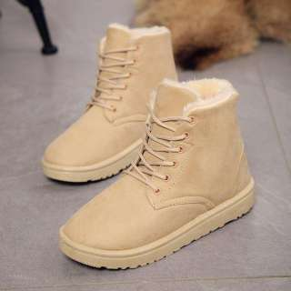 ISS337   Flat with Korean version of Martin boots winter   I Bags Store