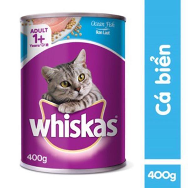 Thức ăn cho mèo Pate Whiskas Adult Lon 400g